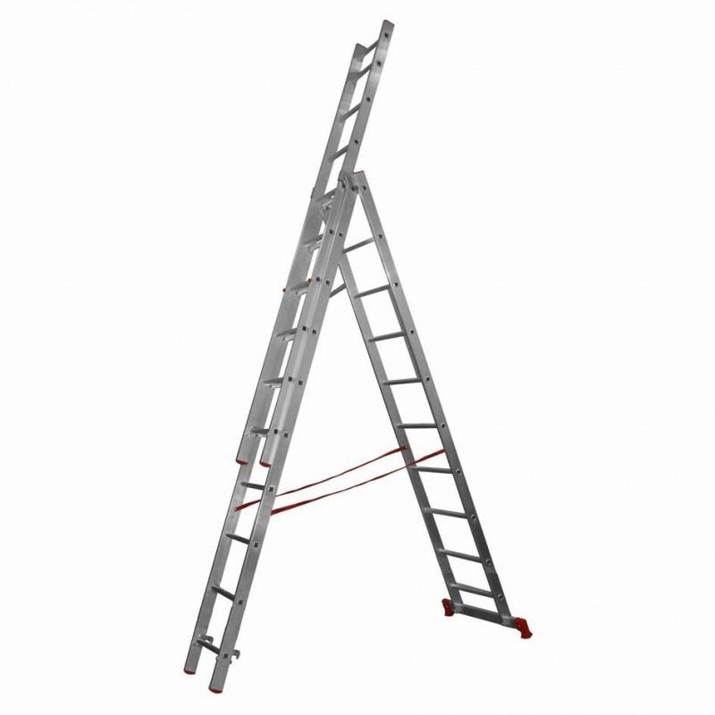 Лестница трехсекционная 3х9